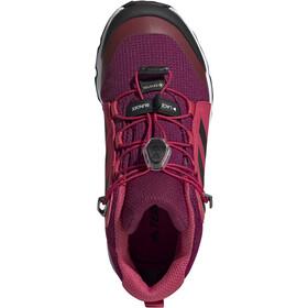 adidas TERREX Mid GTX Scarpe Bambino, power berry/core white/power pink